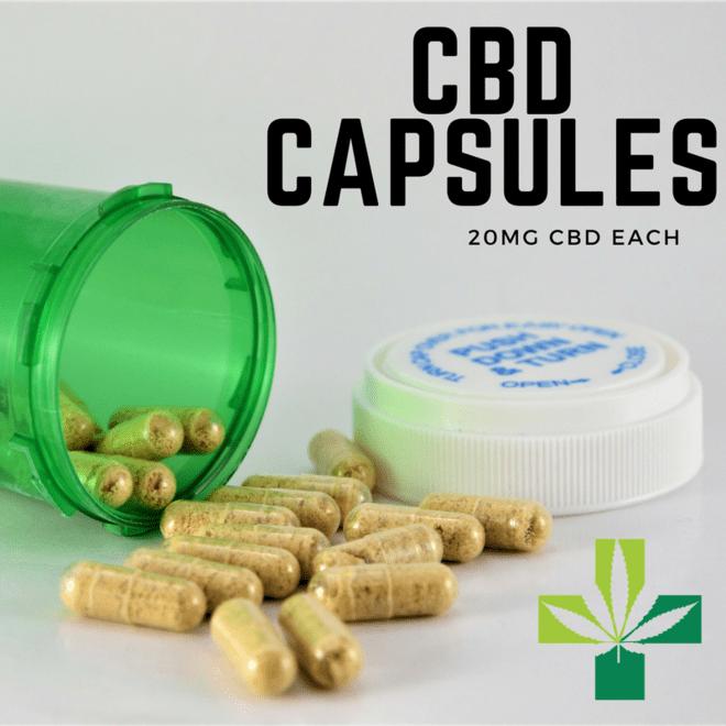 Leafly CBD Capsules